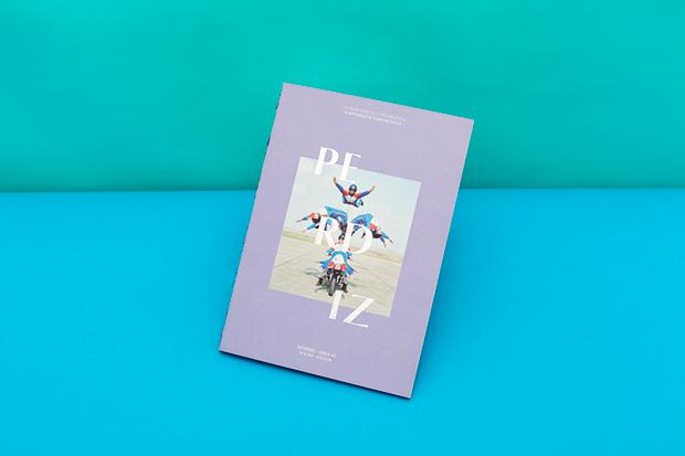 Perdiz Magazine #3 diseñado por Querida