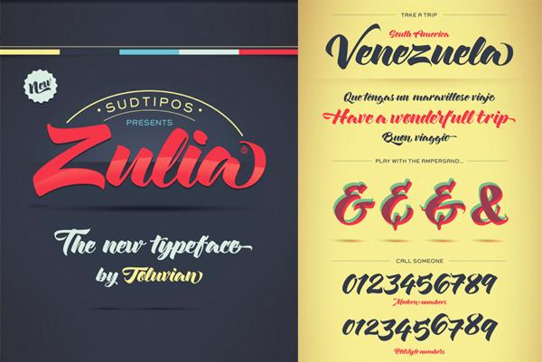 Tipografía Zulia