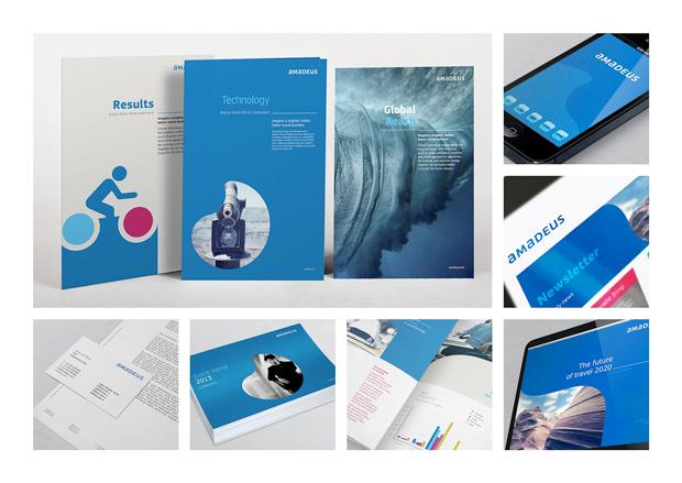 Amadeus nueva identidad visual diseño de Interbrand
