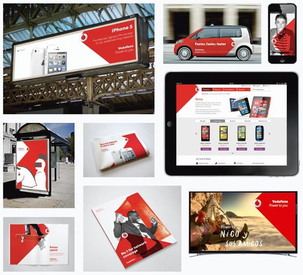 Brand Union diseña la nueva identidad visual de Vodafone
