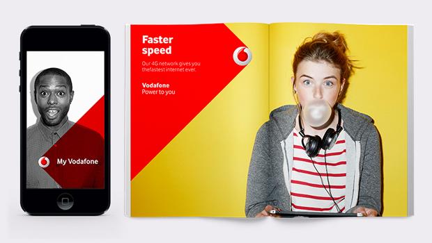 Brand Union – nueva identidad visual de Vodafone
