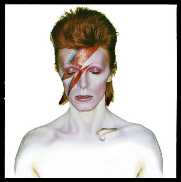 Bowie Series – Brian Duffy – portada Aladdin Sane 1973