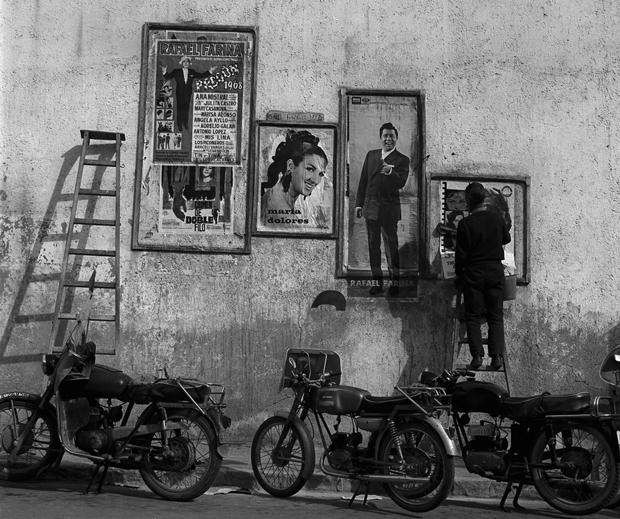 Català-Roca – Publicidad en la calle, Caravaca, Murcia, 1968