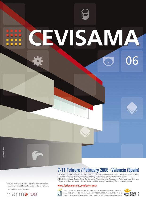 Cevisama – campaña gráfica 2006