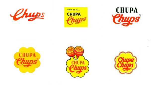 Chupa Chups evolución logo