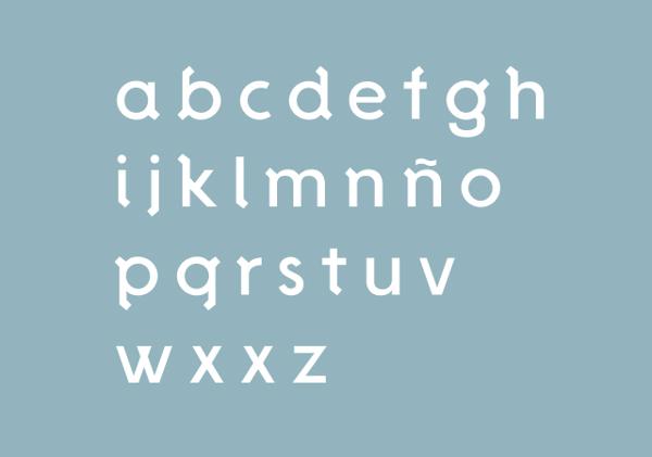 De la Fuente – tipografía gratuita para titulares