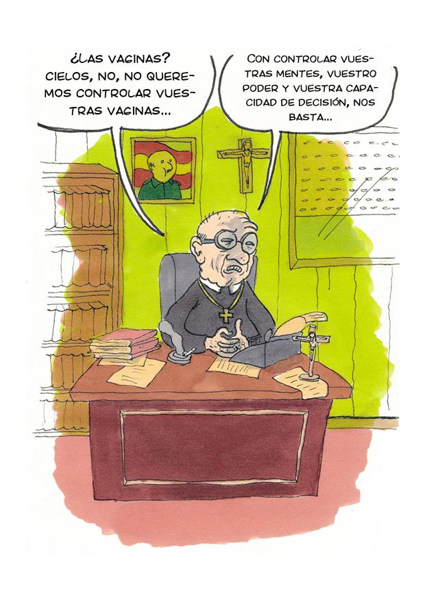Wombastic Joaquín Guirao – viñetas contra la reforma de la Ley del aborto