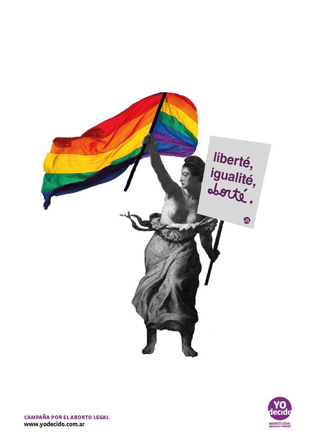 Wombastic Yo Decido – ilustraciones contra la reforma de la Ley del aborto