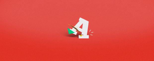 Alfabeto tipográfico animado, por Ariel Costa