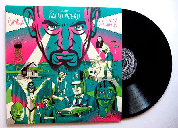 Diseño de portada de disco