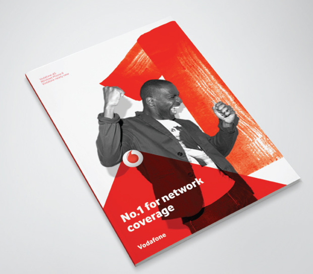 Power of Red – identidad visual Vodafone