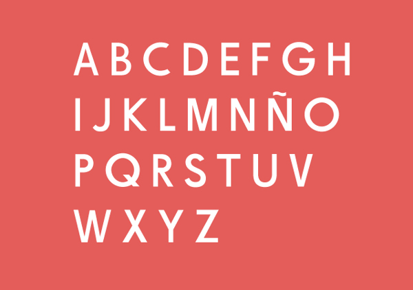 De la Fuente – tipografía humanista gratuita para titulares