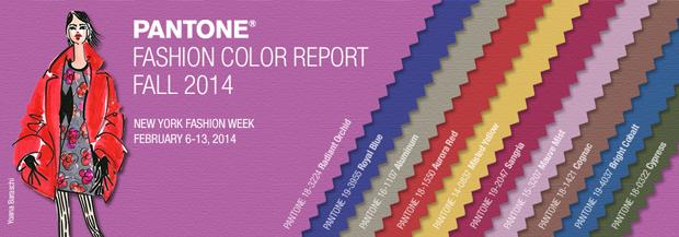 10 colores Pantone otoño invierno 2014-15