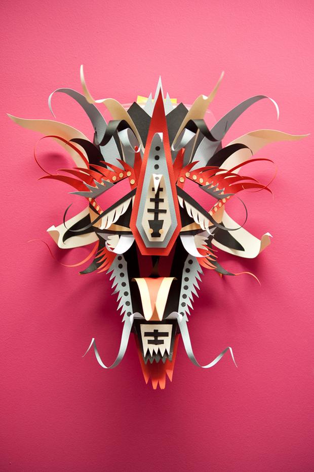 carnaval gráfico – máscaras en papercraft