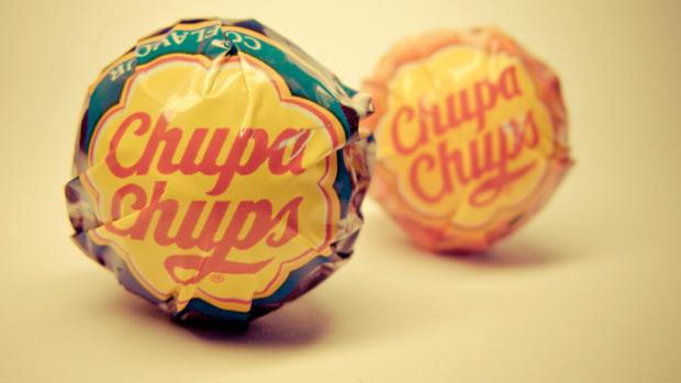 Chupa Chups diseño marca Dalí
