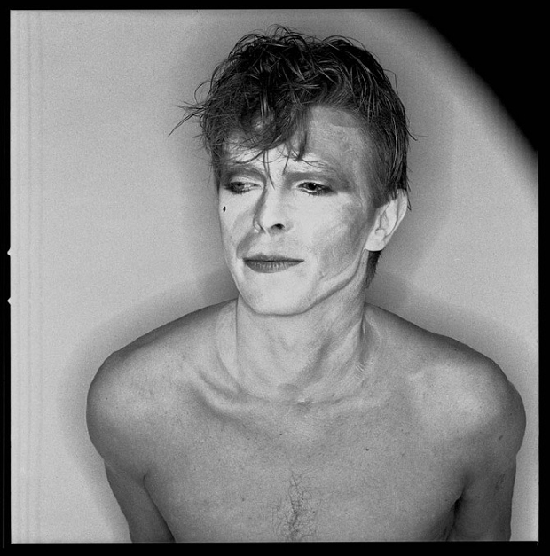 Brian Duffy retrato Bowie Series