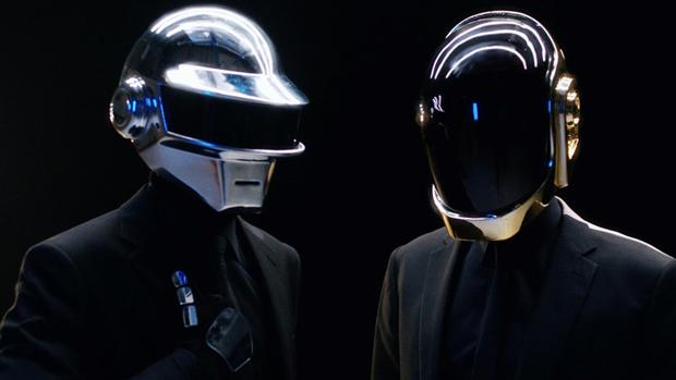 Daft Punk, fotograma spot Icons The Sunday Times