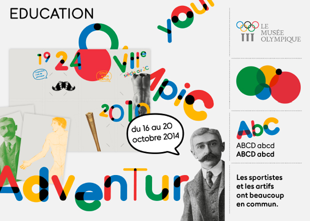 Aplicaciones tipografía Relay – Museo Olímpico