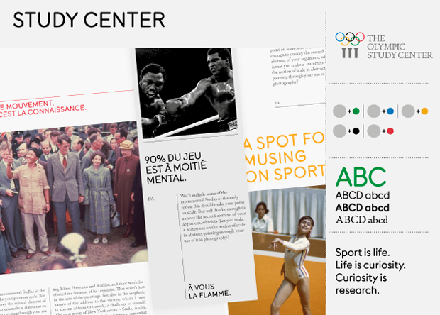 Nueva identidad del Museo Olímpico
