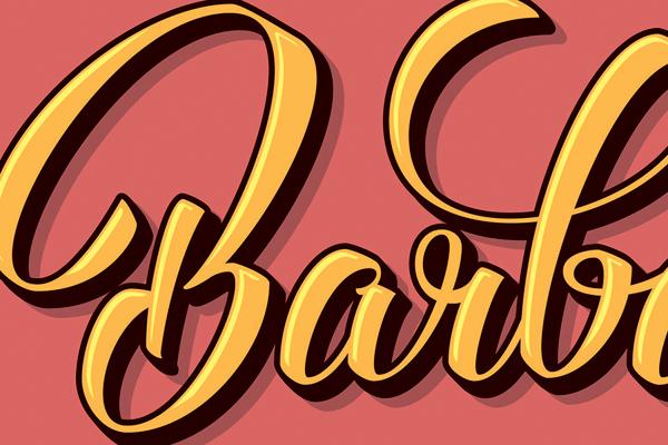 Diseño de ilustracion tipografica