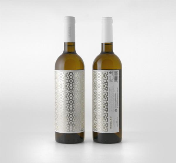 Diseño de etiquetas para Bodegas Nazaríes