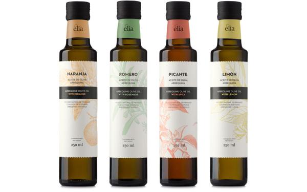 Diseño para el aceite de oliva Èlia