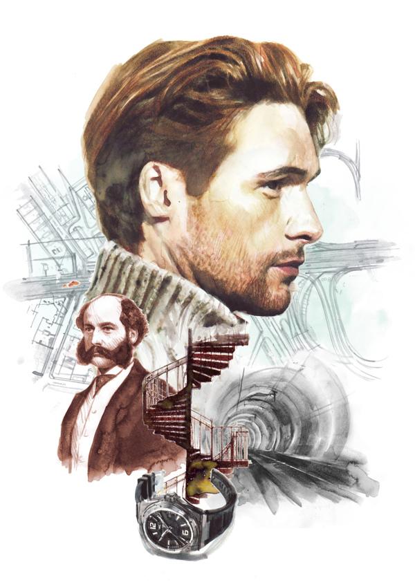 Ilustración para Watch Magazine