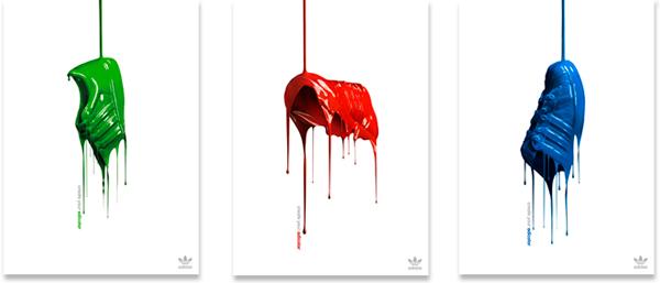 Publicidad para adidas. Dirección de arte de Jordi Rins
