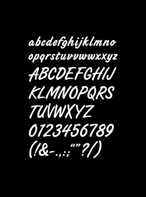 Diseño de tipografía de Air Asia
