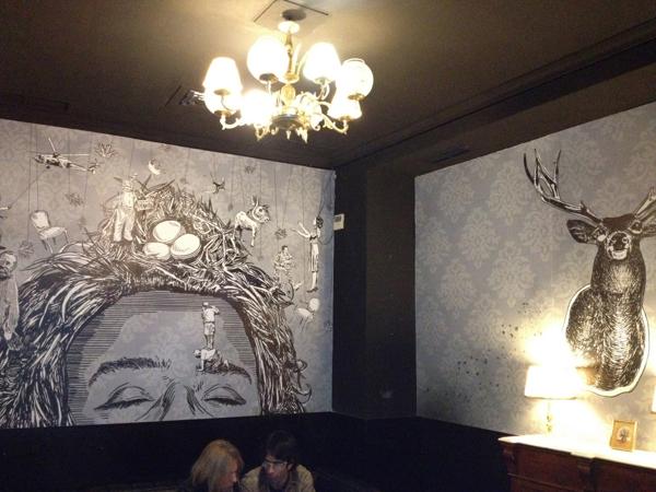 Mural para Alfil