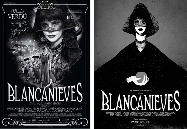 Carteles para Blancanieves de Pablo Berger