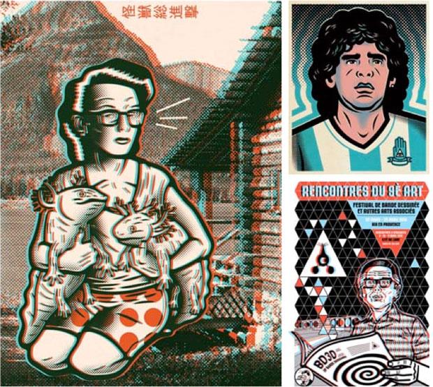 Carteles de Jorge Alderete