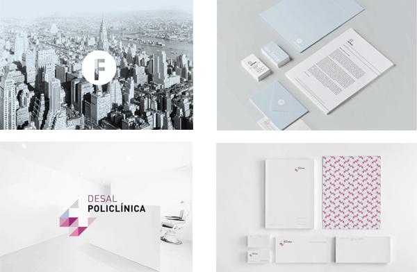 Diseño de identidad corporartiva de Alex Monzó