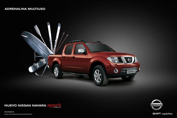 Pieza publicitaria para Nissan. Dirección artística de Jordi Rins