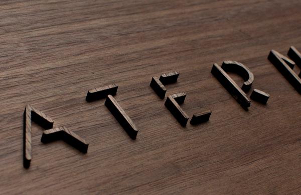 Diseño de tpografía para la marca Paterna