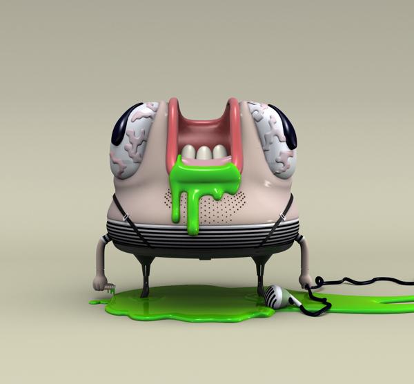 Ilustración 3D por Raúl Real