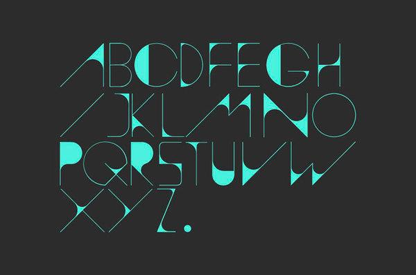 Diseño de la tipografía Polar