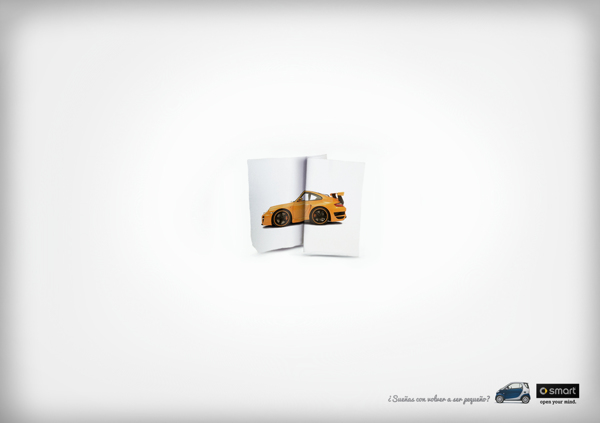 Pieza publicitaria para Smart