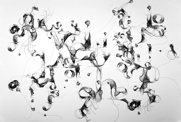 Tipografía experimental de Tania Álvarez Zaldivar