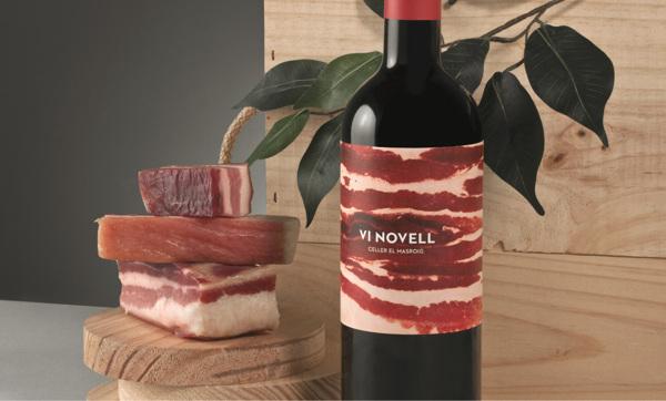 Diseño de etiqueta para Vi Novell