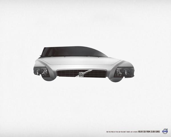 Pieza publicitaria para Volvo
