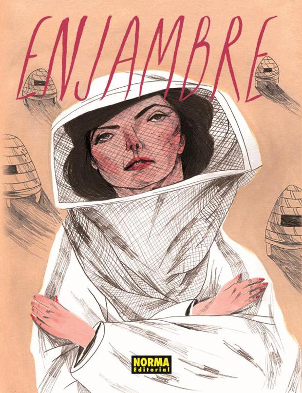 Enjambre – portada cómic Norma Editorial