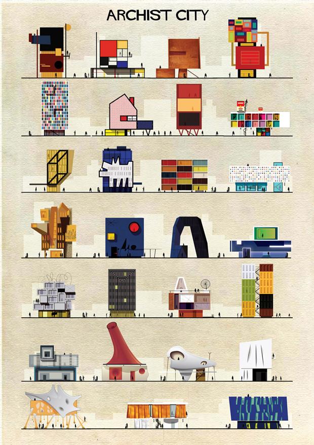 Federico Babina: «El leitmotiv de mis ilustraciones es encontrar los lugares ocultos de la arquitectura»