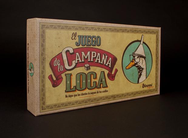 El Juego de la Campaña Loca – caja
