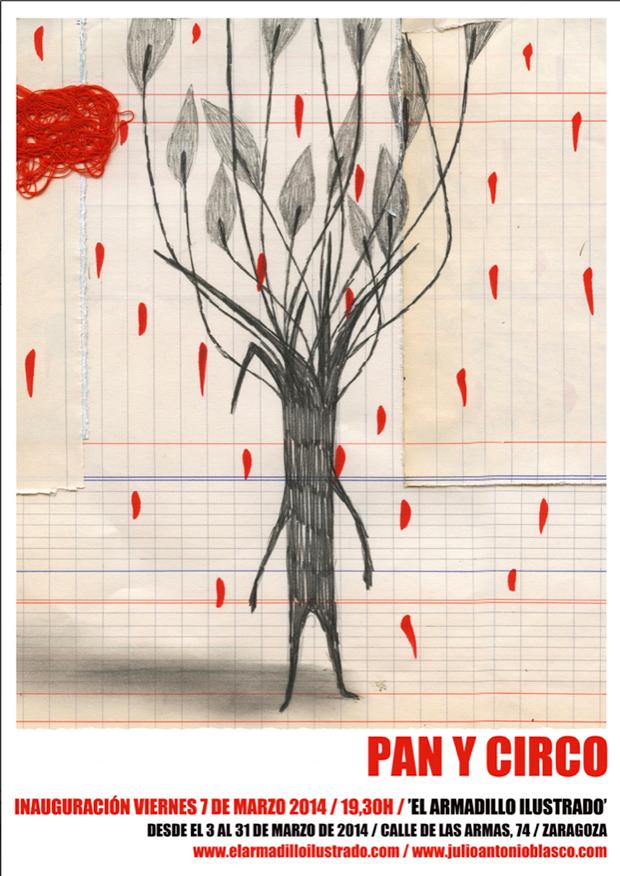 Pan y Circo – exposición Zaragoza de Julio Antonio Blasco aka Sr. López