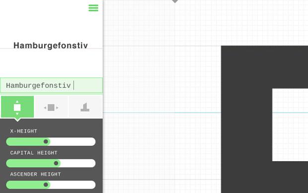 Prototypo – aplicación para crear y personalizar tipografías