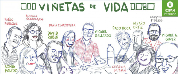 Viñetas de vida: dibujantes on tour