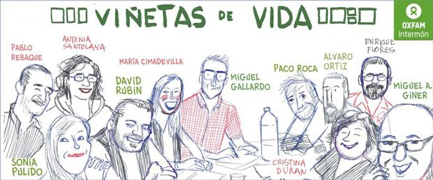 Viñetas de vida - Oxfam Intermón
