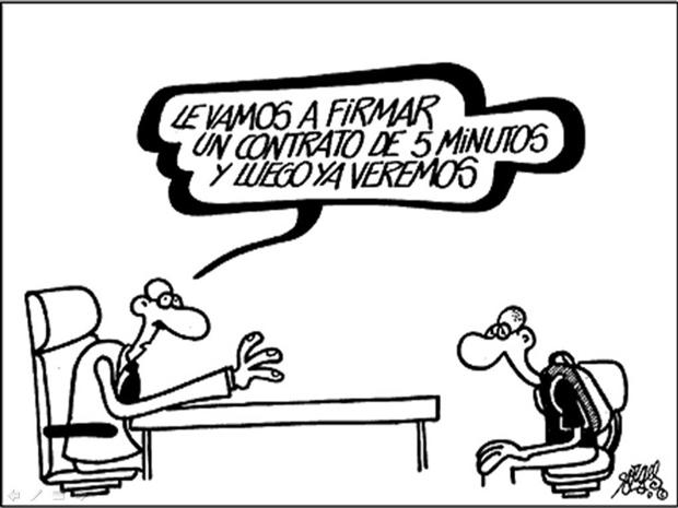Viñetas desempleo Antonio Fraguas, Forges