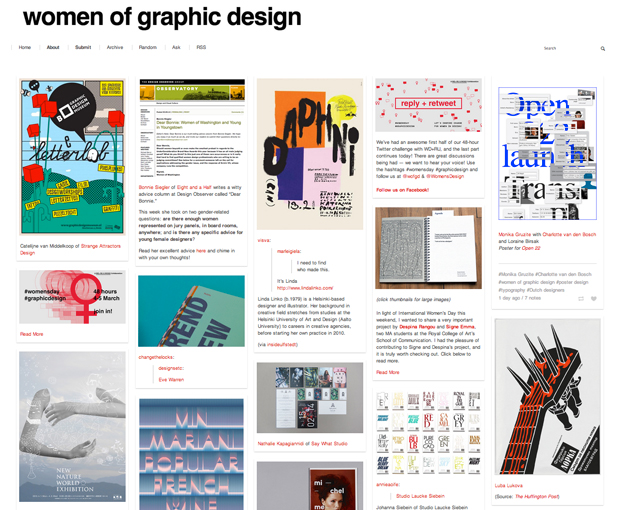 Women of Graphic Design – blog